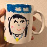 子供向け 母の日、父の日用の工作に! オリジナルマグカップを作ってみました。